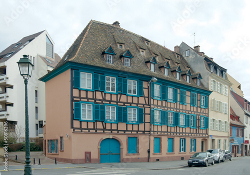 Half-timbered house in Petite-France, Strasbourg