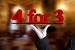 four for three - 4 for 3 -