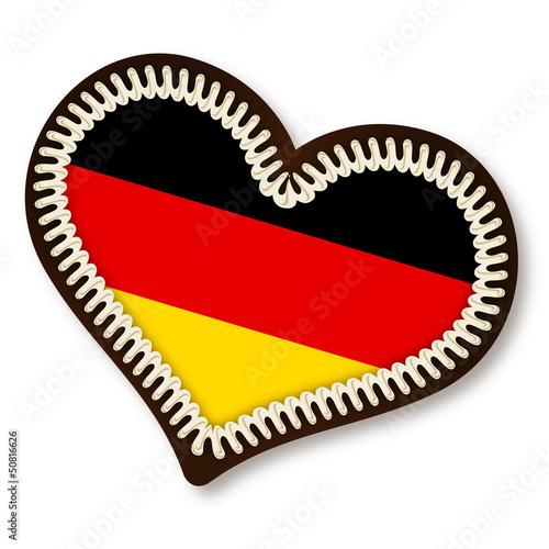 Lebkuchenherz Deutschland