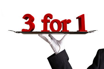three for one - 3 for 1 -