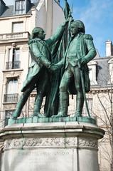 Statue de Lafayette et Washington