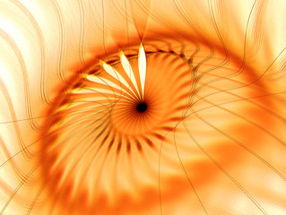abstract fractal background with lines