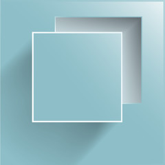 Vector abstract background square. Web Design