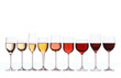 Leinwandbild Motiv Wine gradient
