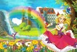 Fototapeten,cartoons,princess,flügel,prächtig