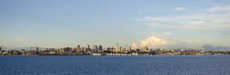 Manaus skyline.
