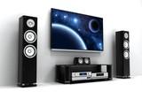 Fototapety TV and hi-fi