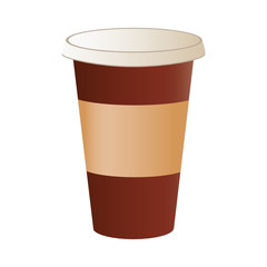 A coffee cup vector