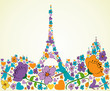 Springtime Paris
