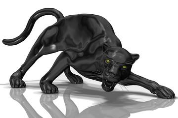 ガラスの黒豹