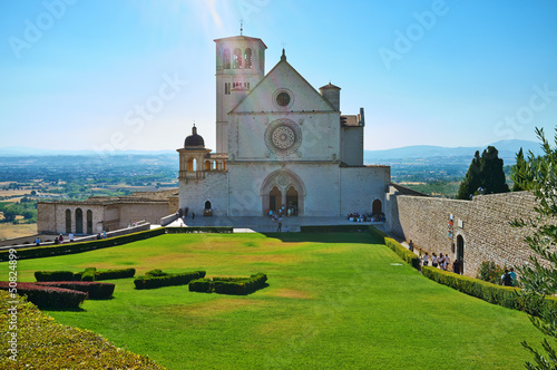 Basilica di San Francesco-Assisi color image