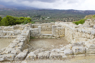 Phaistos or Festos, ancient city on the island of Crete