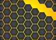 Vector honeycomb background