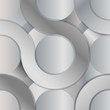 Abstract metal circle background design - eps10 vector