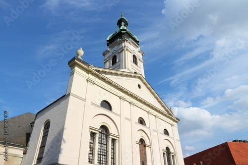 Gyor, Hungary - Roman catholic cathedral