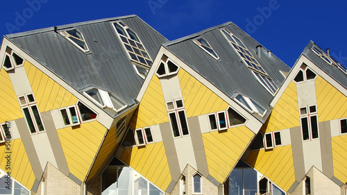 Kubuswoningen, or Cube houses in Rotterdam.
