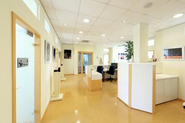 Arztpraxis mit Behandlungsräumen