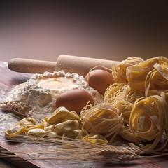 varieta' di pasta all'uovo