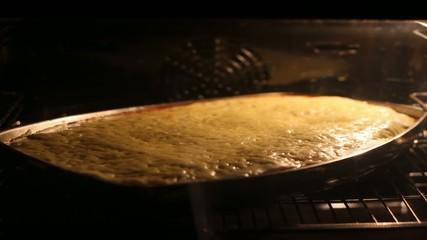 Lasagne im Ofen Zeitraffer