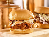 bbq pulled pork sandwich sliders