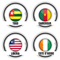 timbres Afrique