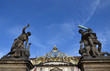 Statue of fighters in front of the Prague Castle