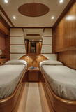 Italy, RIZZARDI TEKNEMA 65 luxury yacht, guests bedroom