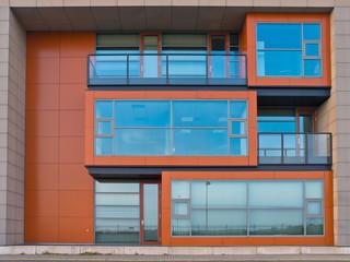 Cubic Design Office Building Exterior