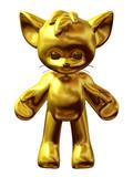 golden beloved puppet or Toy figure poster