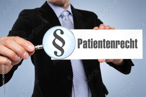 Patientenrecht