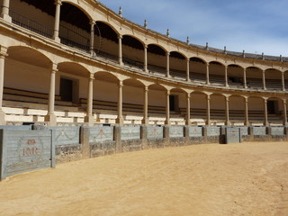Arènes Ronda Andalousie