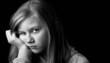 Worried teenager