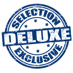 Selection  exclusive deluxe stamp