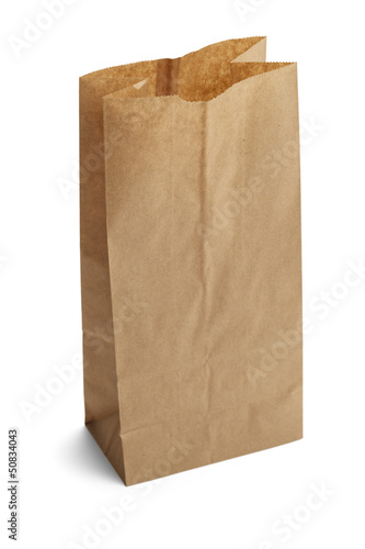 Open Lunch Bag