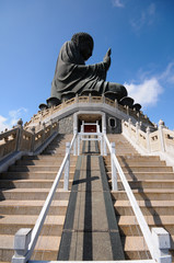 The Big Buddha - Hong Kong