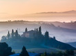 Tuscany at early morning