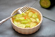 Delicious Marinated Cucumber Salad