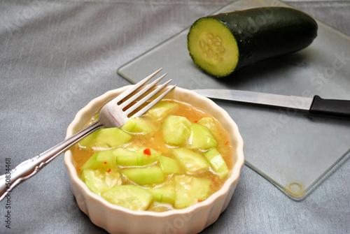 Prepared Cucumber Salad