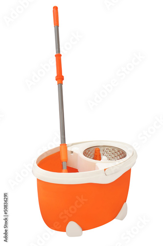 mop and a bucket