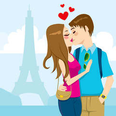 Paris Love Kiss