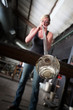 Hot Glass Blowing
