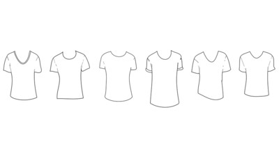 6 Tshirt Design Vectors