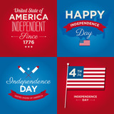 independence day cards USA, 4 th of July
