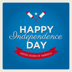 Happy independence day cards USA, 4 th of July