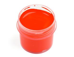 Red Gouache