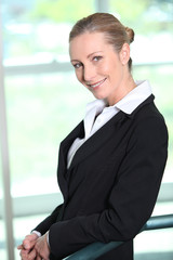 Portrait of woman executive