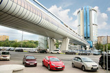 Bagration Bridge in Moscow
