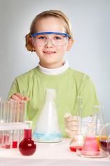 Cute researcher