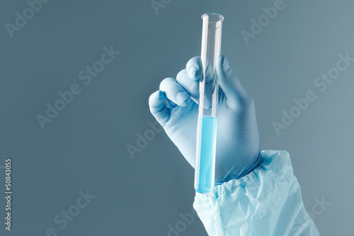 Reagent in a tube
