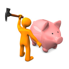 Rob The Piggy Bank